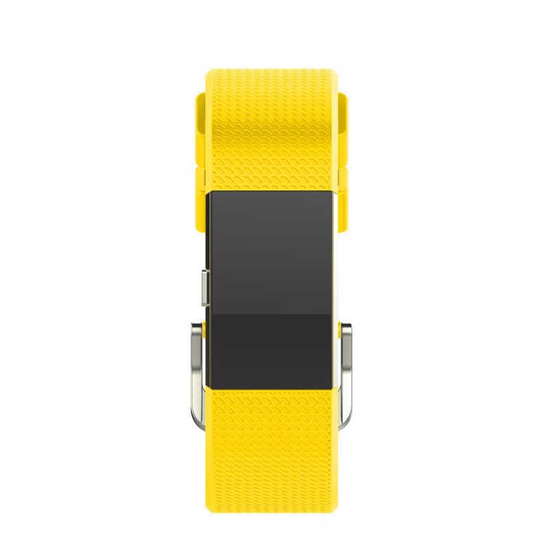 YUEDAER 10 видов цветов желтый ремешок для смарт-часов для браслета FitBit Charge 2 Силиконовый Браслет-повязка спортивные мягкий ТПУ аксессуар Браслет для наручных часов