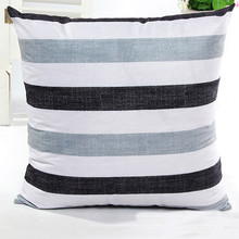 New Fashion 2017 Stripe Decorative  Bed  Pillow Case Decorative From Youtube Pillowcase Gift Dropshipping & Wholesale