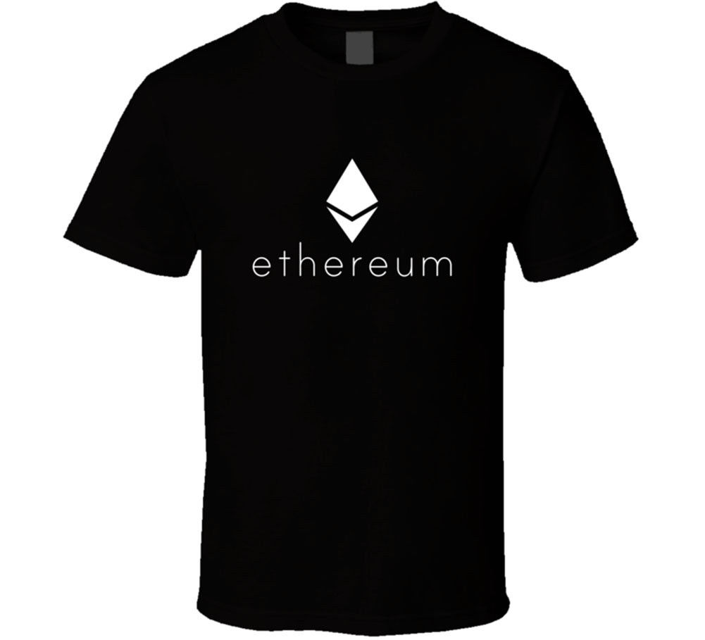 Ethereum Cryptocurrency T-shirt Bitcoin Litecoin Mining Altcoins Monero Zcash Men T Shirt Great Funny Man Cotton