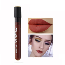 1Pcs FOONBE Brand Matte Liquid Lipstick Lips Make up Long Lasting Lip Gloss Matte Sexy Waterproof Cosmetics Beauty Lip Stick