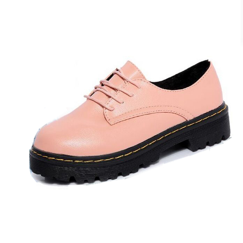 Japanese Style Round Womens Shoes Institute Wind Retro Ways Belt Buckle Tidal Flat Fashion Footwear England Small Leather Shoes<br><br>Aliexpress