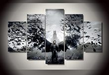 2016 Cuadros Wall Art Dracula Untold Luke Evans Group Painting Children's Room Decor Print Picture Canvas Unframed 5 Pieces/set