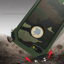 Army Camo Camouflage Pattern back cover Hard Plastic Soft TPU Armor protective phone cases for iPhone 5s 6 6s plus 7 plus coque