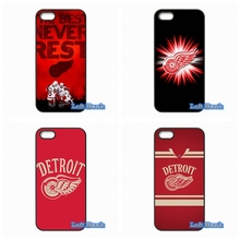 For HTC One M10 For Microsoft Nokia Lumia 540 550 640 950 X2 XL NHL Hockey Detroit Red Wings Case Cover(China)