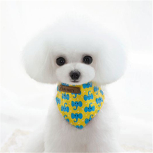 Pet Products Dog Supplies Small Dog Cat Teddy Chihuahua Puppy Accessories Triangular Bandage Three Types(China)