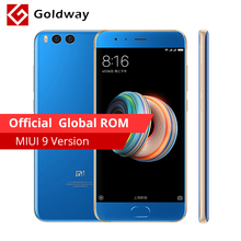 "Original Xiaomi Mi Note 3 Mobile Phone Snapdragon 660 6GB RAM 64GB ROM 5.5""Four Side Curved Glass Dual Back 12.0+16.0MP MIUI 9(Hong Kong)"