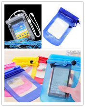 for Sony Ericsson Xperia Live with Walkman WT19i  Mobile Phone Waterproof Dry Bag Case Transparent With Scrub