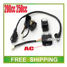 free shipping 150cc 200cc 250cc motorcycle dirt bike atv quad accessories zongshen loncin cdi ignition coil relay ac rectifier