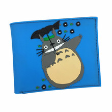 New Arrival Cartoon Wallet Totoro / Contra /Turtles PVC High Quality Purse Drop Shipping Whole Sale Price(China)