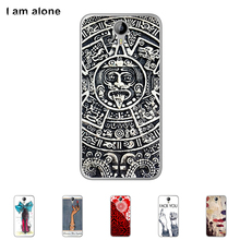 For Homtom HT3 HT 3 5.0 inch Soft TPU Silicone Cellphone Case High Quality Mask Color Paint Cover Protective Skin Free Shipping