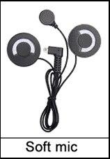 Updated Version FreedConn FDCVB BT Bluetooth Motorcycle Helmet Intercom Interphone Headset+Soft Earpiece