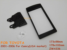 Car Fitting Kit installation Radio fascia for TOYOTA Camry 2001-2006 USA market   For TOYOTA Camry 2001-2006