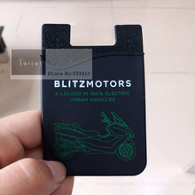750pcs/Lot Customized Logo mobile phone 3M Silicon Wallet Cell Phone Sticker Card Holder for mobile phone