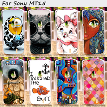 TAOYUNXI Plastic Mobile Phone Cover For Sony Ericsson Xperia Neo V MT11ia MT11i MT15i MT15 Cases Cover Back Skin Shell Housing