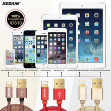 XEDAIN 5V/2A Cable Fast Charger Data Adapter Original USB Cable For iphone 7 6 s plus i6 i5 iphone 5 5s ipad Mobile Phone Cable