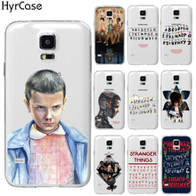 Ultra Thin Soft TPU Gel Silicon TV Stranger Things Pattern Case For Samsung Galaxy S3 S4 S5 Mini S6 S7 Edge S8 Plus Phone Cover(China)