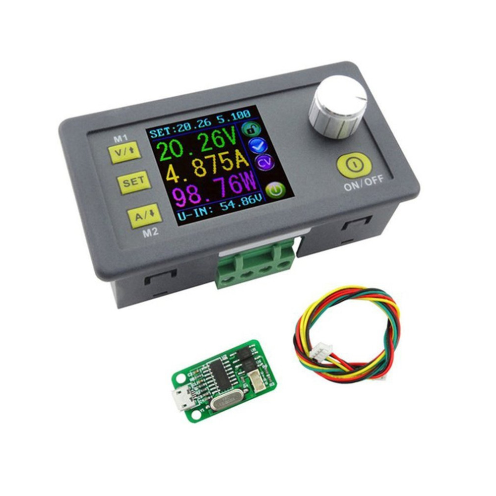 New DPS5005 Direct-current Communication Function Constant Voltage Step-down Power Supply Module Voltage Converter Voltmeter<br>