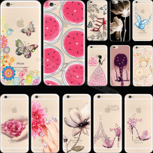 Dazzling Diamond Pattern Fruit Silicon Phone Shell Cover For Apple iPhone 4 iPhone 4S iPhone4 iPhone4S Case Cases Magic Design