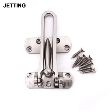 JETTING Zinc Alloy Hasp Latch Lock Door Chain Anti-theft Clasp Convenience Window Cabinet Locks For Home Hotel Security