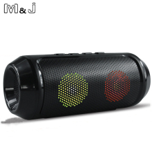 M&J Multimedia Mini Bluetooth Speaker with Stereo FM AUX Wireless Bluetooth Super Bass With Mic Boombox Loudspeaker For Phone
