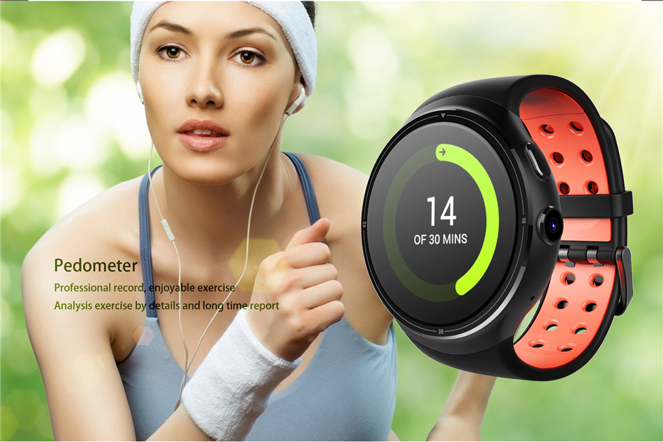 Men Girl Z10 Android 5.1 Smart Watch 1GB 16GB MTK6580 Heart Rate Tracker Passometer Smartwatch With WIFI GPS SIM For Android iOS