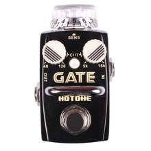 Hotone GATE Noise Reduction Effect Pedal True Bypass Effects Stompbox for Electric Guitar & Bass Keep Noise and Hum Away