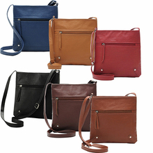 Hot Fashion New Women's Casual Simple Faux Leather Handbag Satchel Cross Body Bag Messgaer Bag