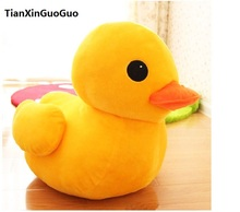 stuffed toy  yellow duck plush toy large 50 cm duck doll soft throw pillow toy birthday gift b0677