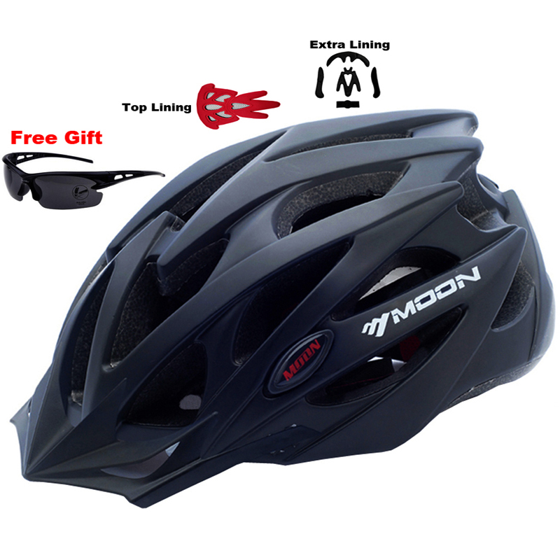 MOON Upgrade Model 2015 Bicycle Helmet Insect Net Cycling Helmet Ultralight Integrally-molded Road Mountain Bike Helmet<br>