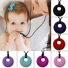 JAVRICK Baby Molar Safety Accessories Teether Food Grade Silicone Necklaces