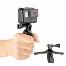 Ulanzi Portable Mini Flexible Tripod For Phone Tablet Mount Accessory Of Selfie Stick/Monopod For iPhone SmoothQ DJI OSMO Gopro(China)