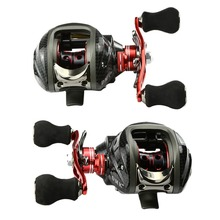 Right/Left Baitcasting Reel 12BB 6.3:1 Bait Casting Carp Fishing Reels Casting Fishing Tools 11Ball Bearings Fishing Wheel(China)