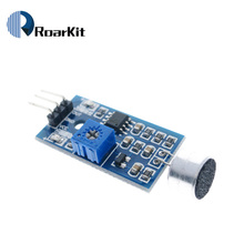 Microphone Sound Detection Sensor Module Sound Sensor Intelligent Vehicle For Arduino(China)