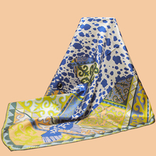"Huajun || New color brand scarf ""Appaloosa des Steppes"" 90 silk square 100% silk twill silk scarves printed shawl"