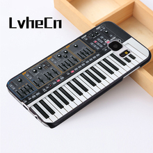 LvheCn phone case cover For Samsung Galaxy S3 S4 S5 mini S6 S7 S8 edge plus Note2 3 4 5 7 8 DJ Keyboard Synthesizer(China)