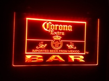 jb-56 Corona Bar Beer Extra logo beer bar pub club 3d signs LED Neon Light Sign(China)
