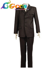 CGCOS Free Shipping Cosplay Costume Doctor Who Suit Uniform New in Stock Halloween Christmas Party