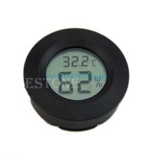 Mini LCD Digital Thermometer Hygrometer Fridge Freezer tester Temperature Humidity Meter detector #H028#(China)