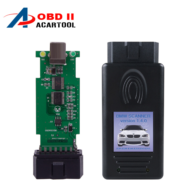Top Rated For Bmw Scanner 1.4 OBDII scanner 1.4 for bmw code reader with obd2 interface 1.4.0 version Auto diagnostic tool(China (Mainland))