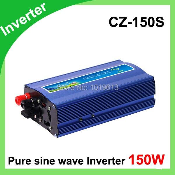 Inverter DC12V/24V Pure Sine Wave Inverter for Wind Turbine/Solar System, 150W<br>