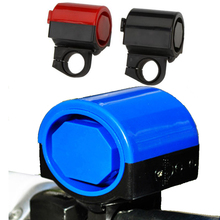 Bicycle Electronic Bell Bike Loud Horn Handlebar Bell Ultra-loud Alarm Cycling Ring Hooter Siren Accessory 5 colors