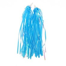 Boutique Bicycle Bike Cycling Tricycle Kids Girls Handlebar Streamers Tassels(China)