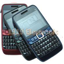 New Full Complete Mobile Phone Housing Cover Case+Enlish Or Russian Keypad For Nokia E63 + Tools+Tracking