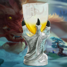 Free Shipping 1Piece Dragonclaw Goblet Chalis Dragon Claw Gift Dragon Glass Shot Goblet Chalice Gothic Dragon Drinking Vessels