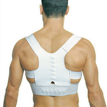 Back Shoulder Posture Corrector Back Support Straighten out Brace Belt Orthopaedic Adjustable Unisex Gift Health