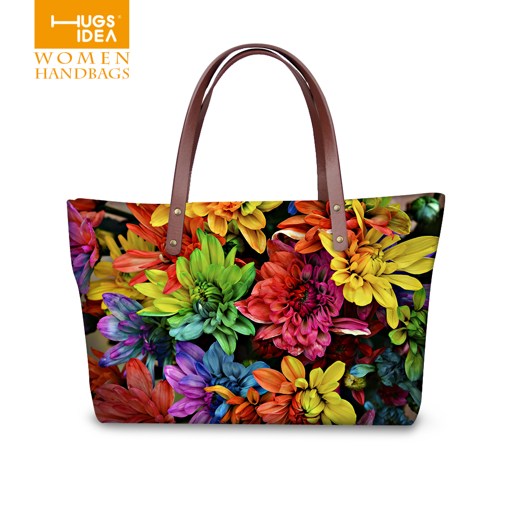 Pretty fancy flower women handbags casual large womens shoulder bag famous brand top-handle bags high quality ladies tote purse<br><br>Aliexpress