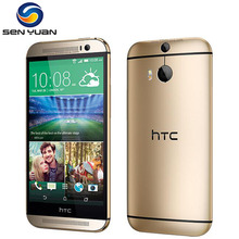 "M8 Original HTC ONE M8 Unlocked cell phone 32GB ROM Quad-Core 5.0""Touch screen 3G&4G WIFI GPS m8 mobile phone"