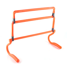 Football Training Hurdle Height Adjustable Removable Barrier Frame Soccer Practice Speed Agility Equipment Football Accessories(China)