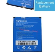 3000mAh 100% Boost3 New Battery For Highscreen Boost 3 / Boost 3 pro Bateria Batterie Baterij CellPhone Mobile Phone Batteries(China)