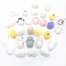Fun Novelty Antistress Ball Toy Cute Seals Emotion Vent Ball Resin Relax Doll Adult Stress Relieve Novelty Toys Gift